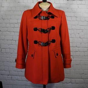 NWOT Guess Pleated Coat PL/PG